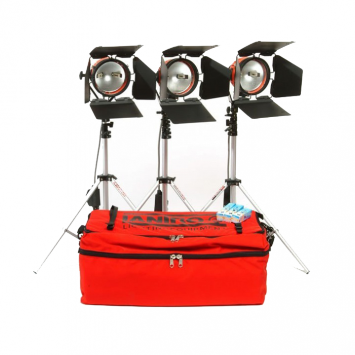 Kit 1 Drive - Redhead 800w - 3 Head Portable Lighting Kit