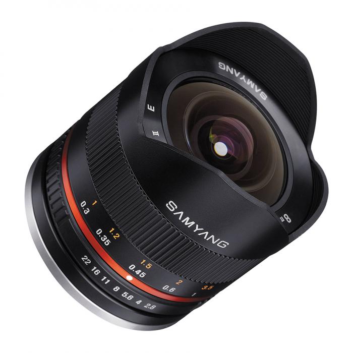 Samyang 8mm Fisheye EF Mount