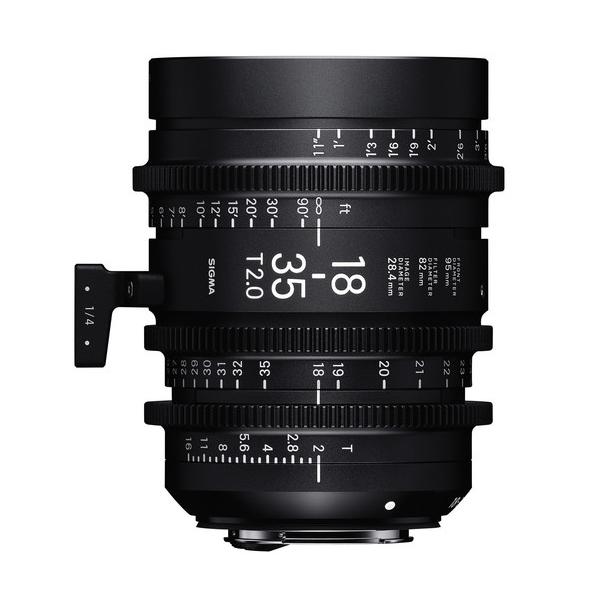 Sigma 18-35mm T2 PL Lens