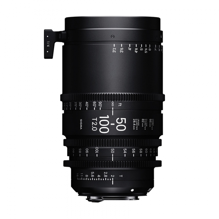 Sigma 50-100mm T2 Cine High-Speed Zoom PL Lens