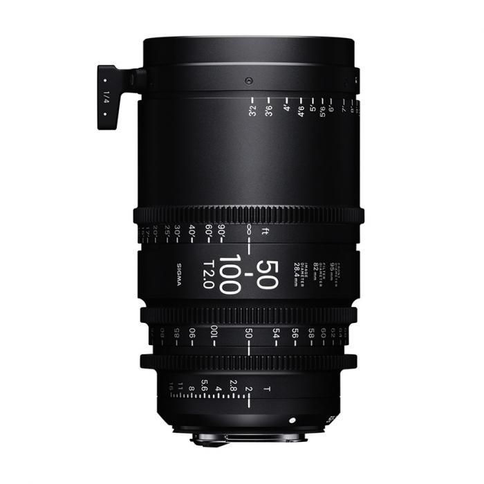 Sigma 50-100mm T2 Cine High-Speed Zoom PL Lens