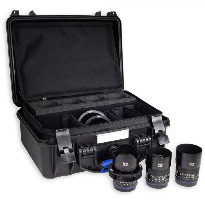 Zeiss Loxia 4x Lens Set