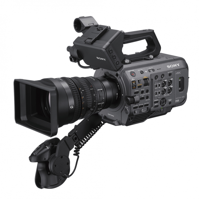 PXW-FX9 available to hire Manchester